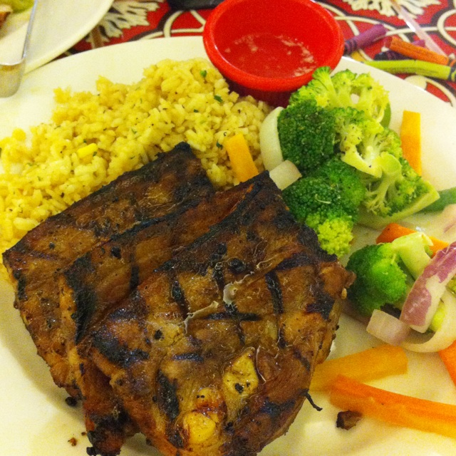 Country Style Grilled Pork Belly