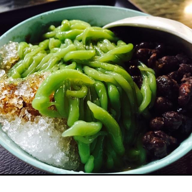 Chendol Melaka With Red Beans