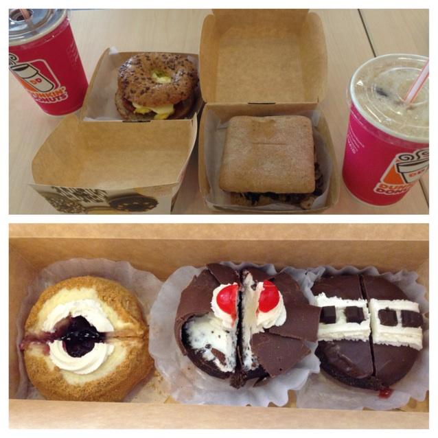 Sandwiches & Doughnuts