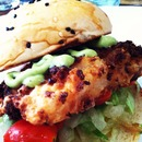 Home Made Fish Burger