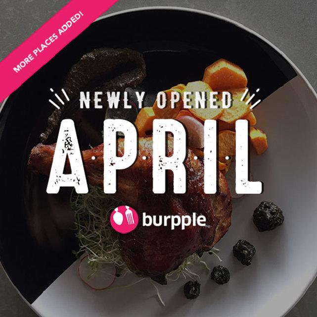 New Restaurants, Cafés And Bars in KL: April 2016