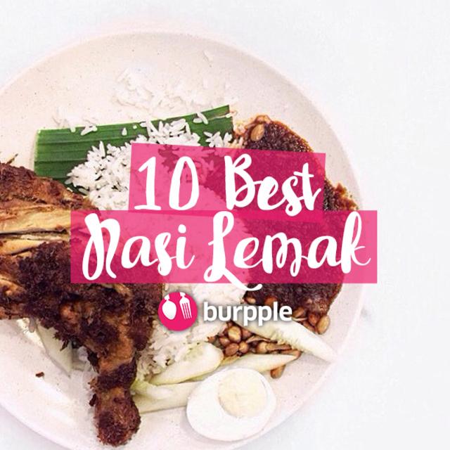 10 Best Nasi Lemak