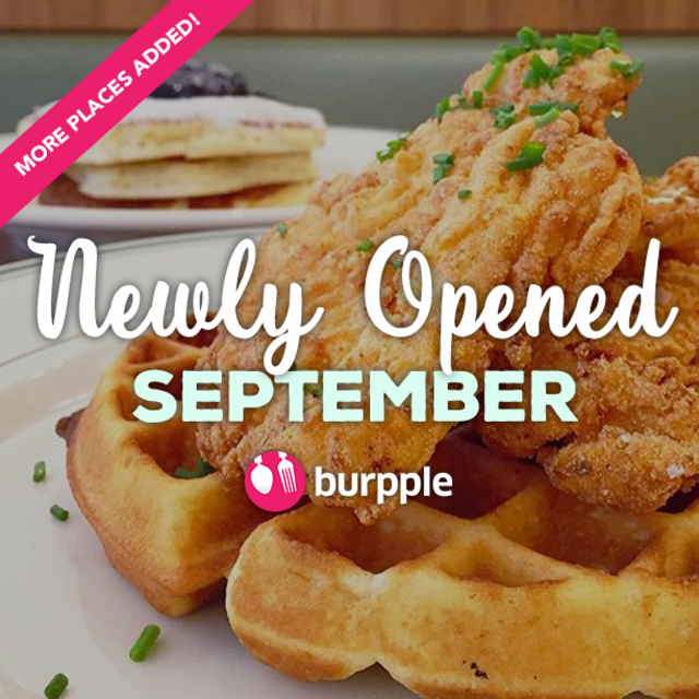 New Restaurants, Cafes And Bars: September 2015
