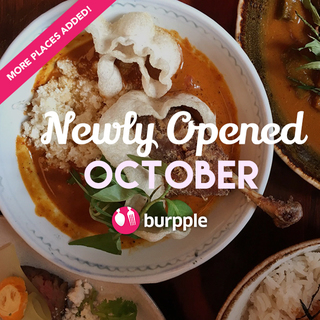 New Restaurants, Cafes And Bars: October 2015