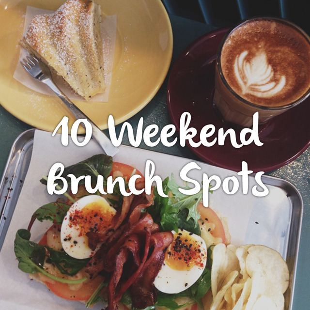 10 Weekend Brunch Spots