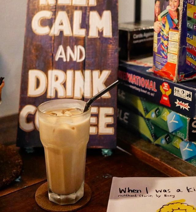 Latte first, then we'll talk | 🏷 #gulamelakalatte #nolattenotalk #betterlattethannever