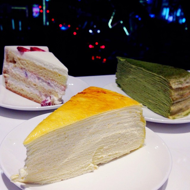 Green Cake Multilayer Cake