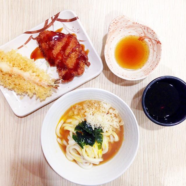 Kama-Tama (Regular), Tempura Ebi, Chicken Katsu