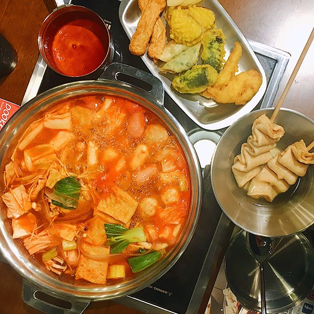 All you can eat ddeokbokki buffet for $18.80++!!
