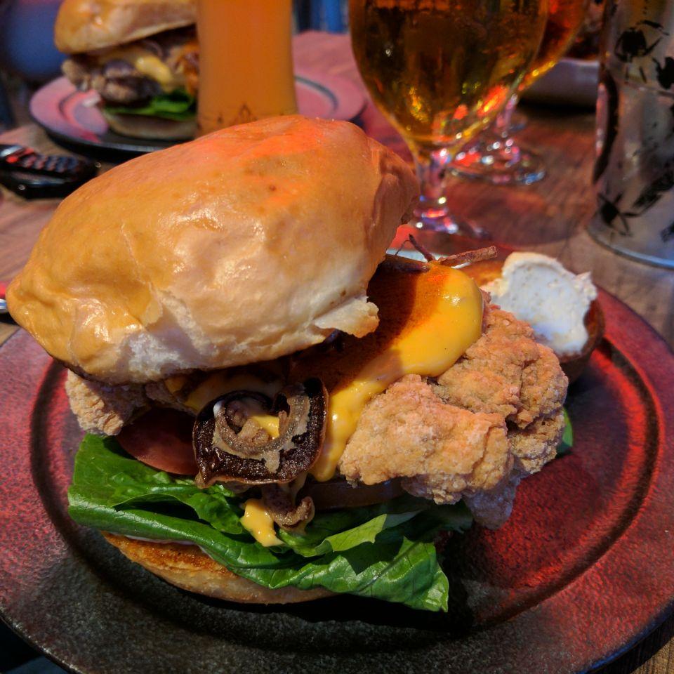 Southern Chicken Burger ($20)