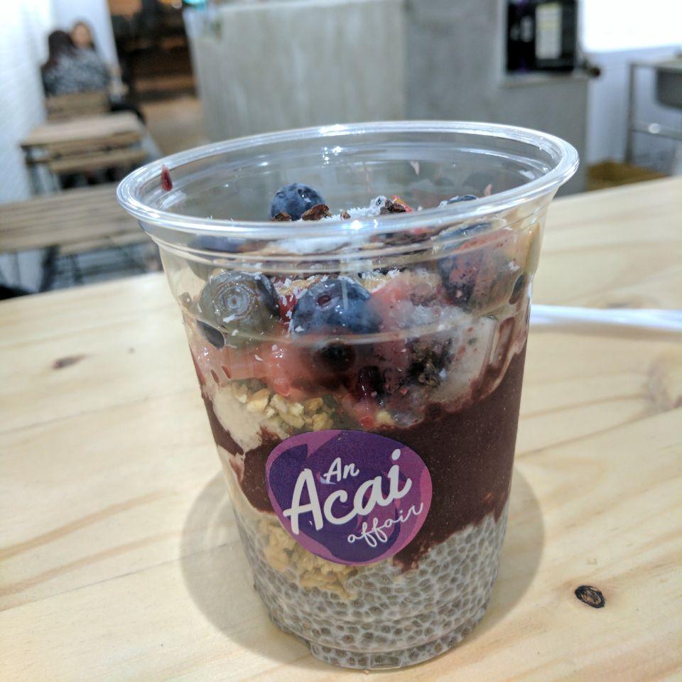Acai Medium Cup ($9)