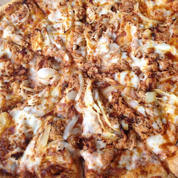 Hot And Spicy Tuna Pizza From Dominos Pizza 234 344