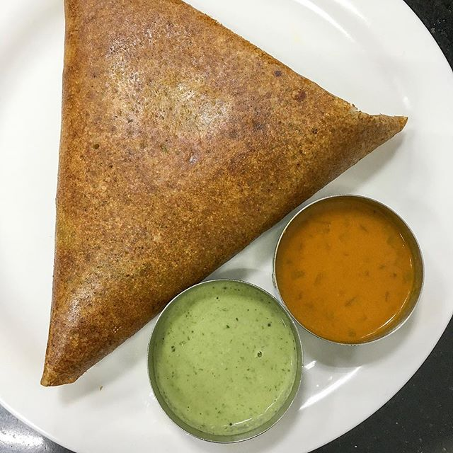 """First time ordering myself at MTR and told myself to order confidently - """"one Masala Dosa please!"""""""