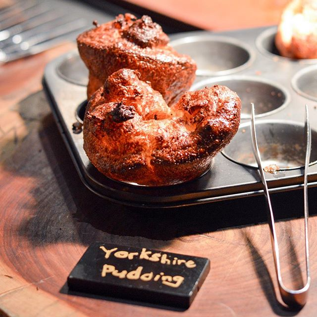 At any buffet experience at The Carvery, be sure to head for their famed Yorkshire Pudding and paired with their gravy and their awesome cuts of beef (Don't forget their awesome TRUFFLE BUTTER!!).