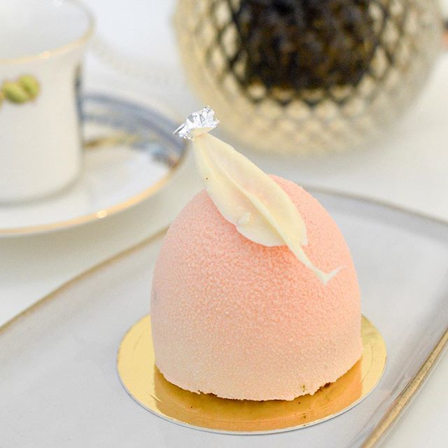 Always a soft spot for pretty dessert!