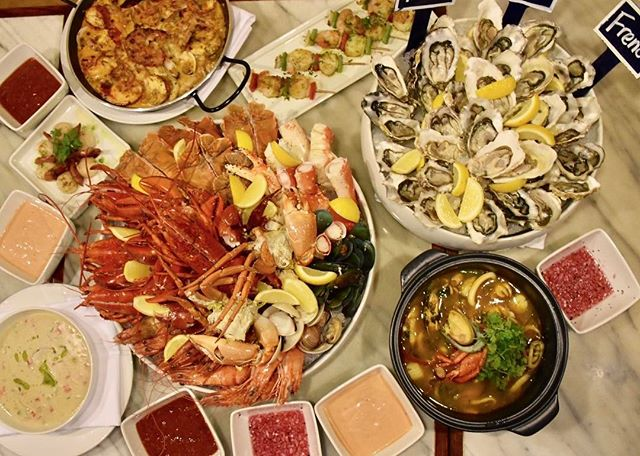 1 more day before @singaporemarriott launches their Oceans to Plate: Seafood Extravaganza buffet!
