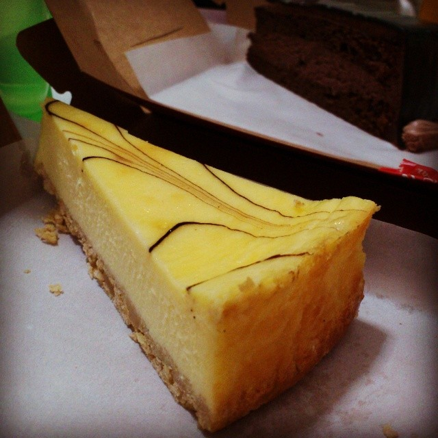 Their signature-Marble cheese cake ♡ by Joyce Teo