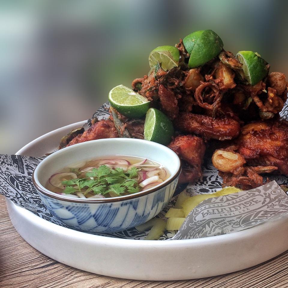 Bangkok Fried Chicken $25(half bird)