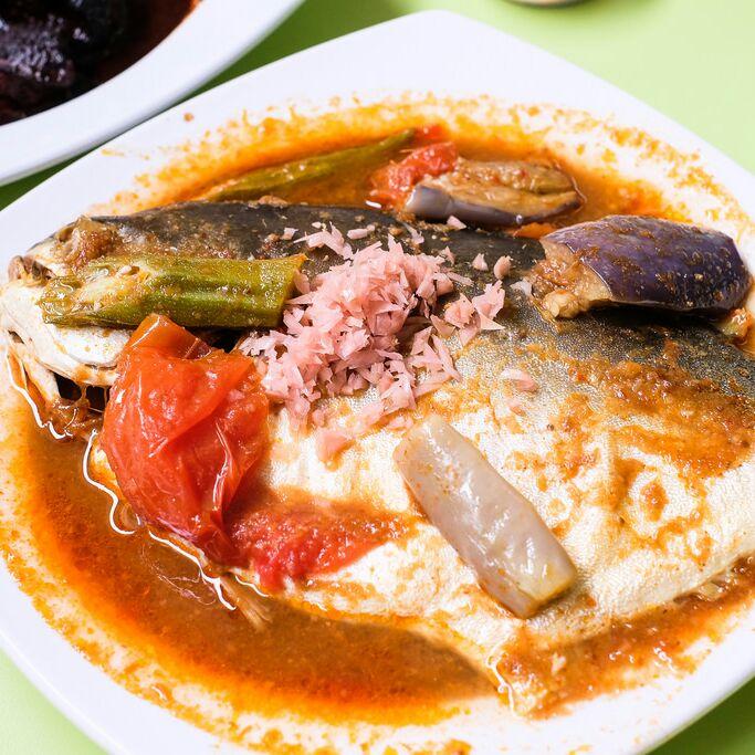 Impressive Peranakan Dishes in a Hawker Centre