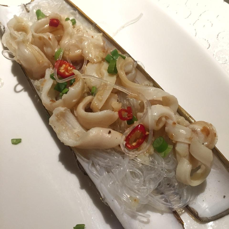 竹蚌粉絲蒸 Steamed Bamboo Clam with Vermicelli