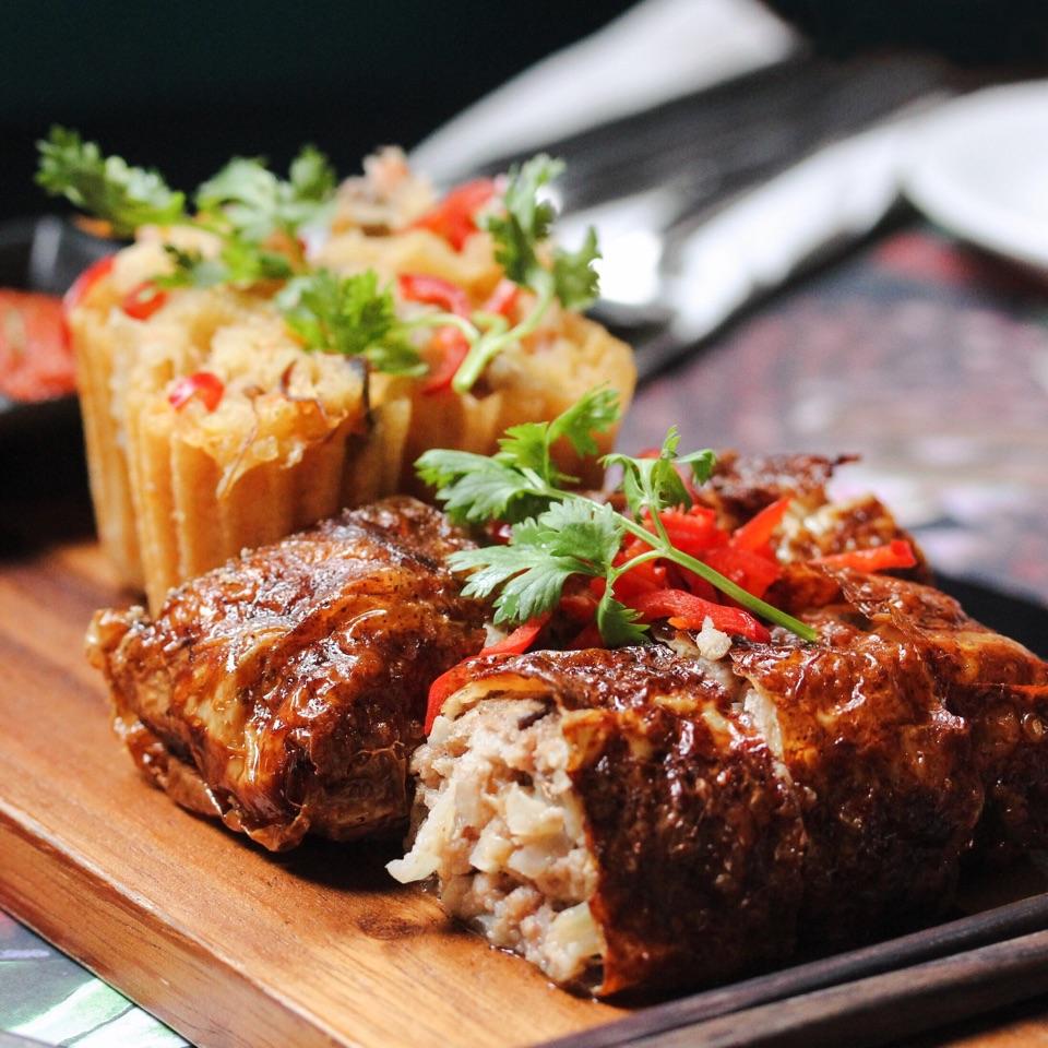 Ngoh Hiang & Cuttlefish Kueh Pie Tee