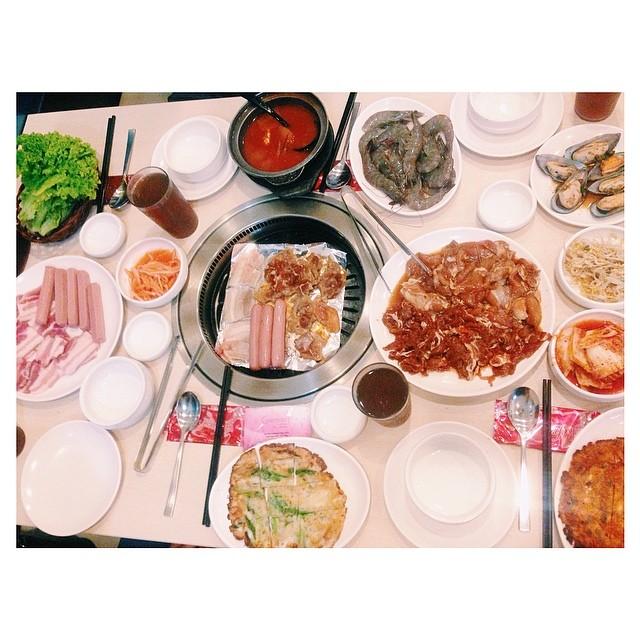 Yesterday's late dinner.