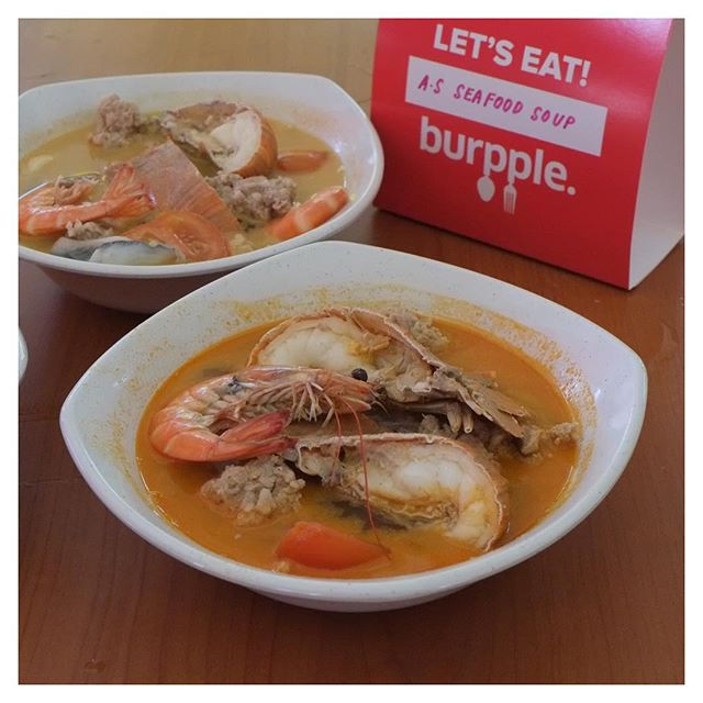 This sweater weather is the perfect time to slurp up this bowl of Crayfish Seafood Soup (&12)!