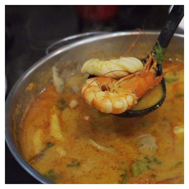 A must order everyone you have Thai is Tom Yum Goong!