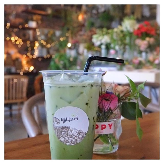 For all matcha lovers out there, kick back, relax & enjoy this hump day in the midst of pretty florals at @thesummerhousesg!