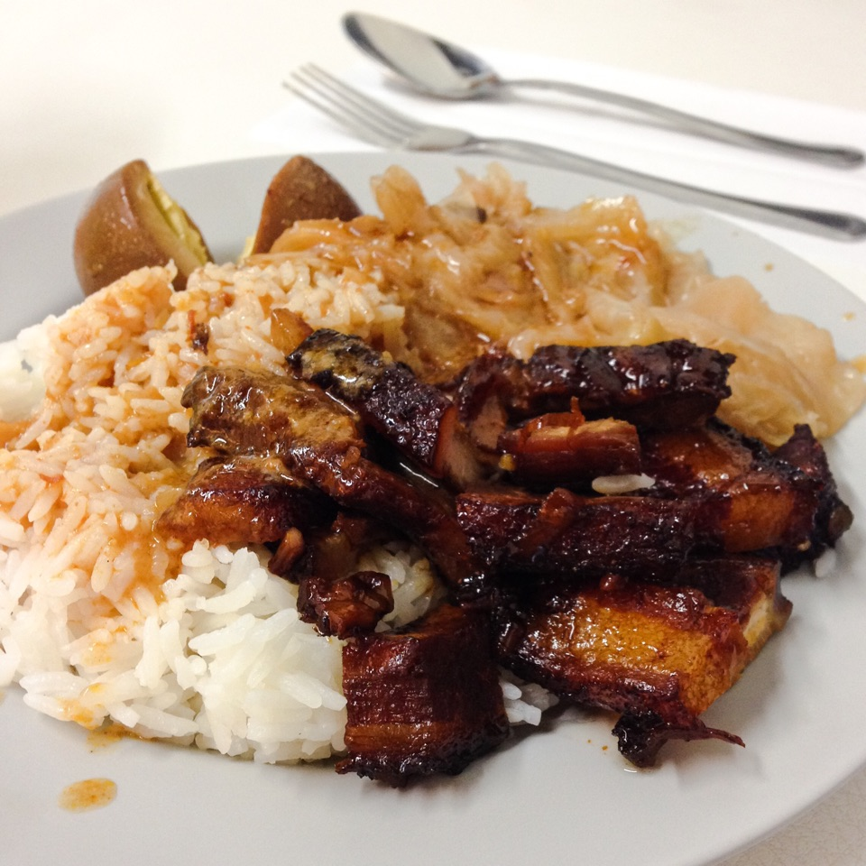 Braised Pork Curry Rice Set ($4.00)