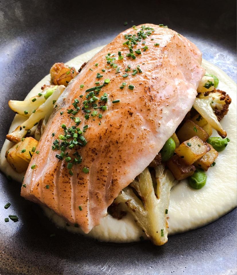 Lightly Smoked Salmon