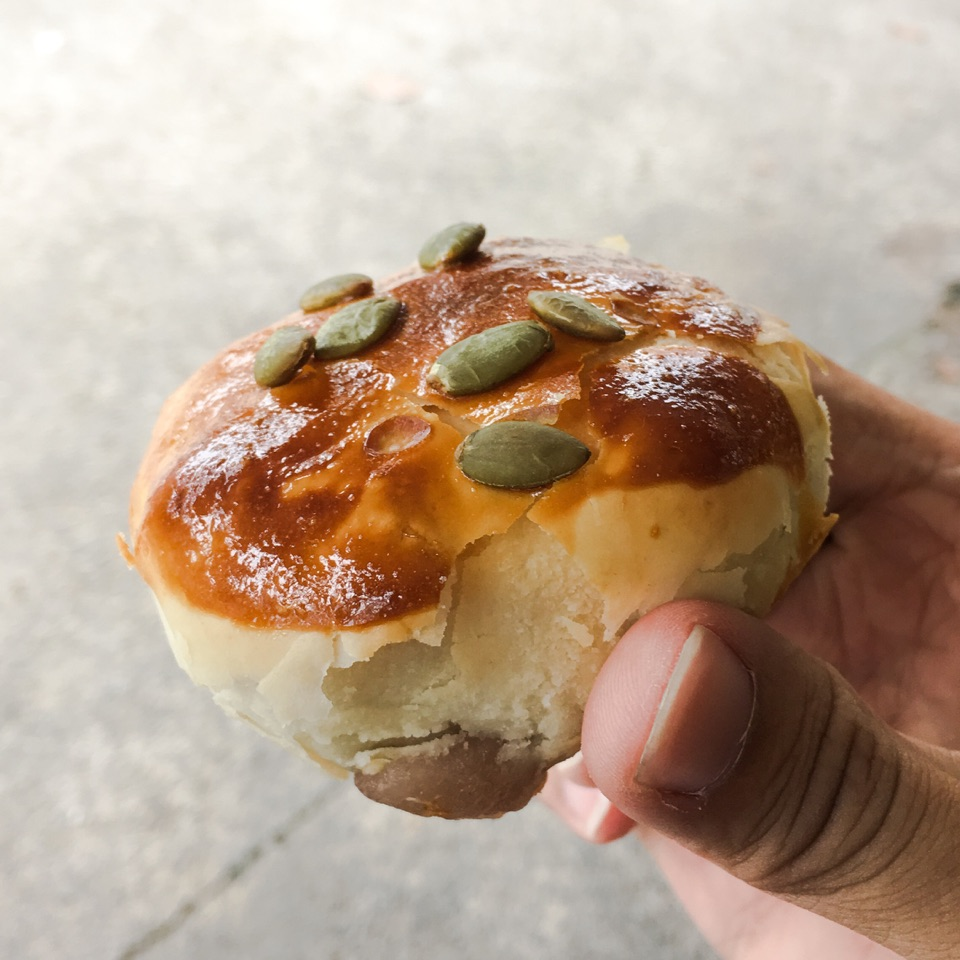 Yam Pastry