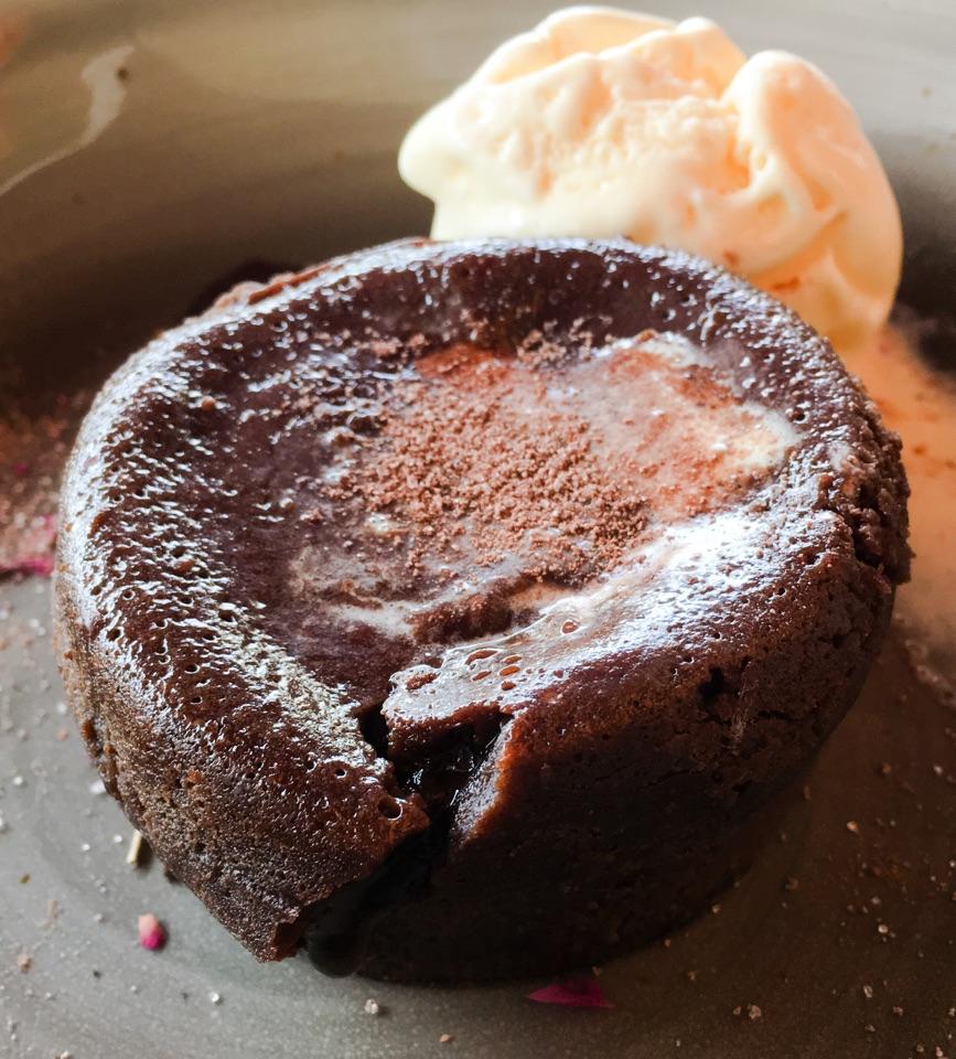 Chocolate Melt with Ice-Cream