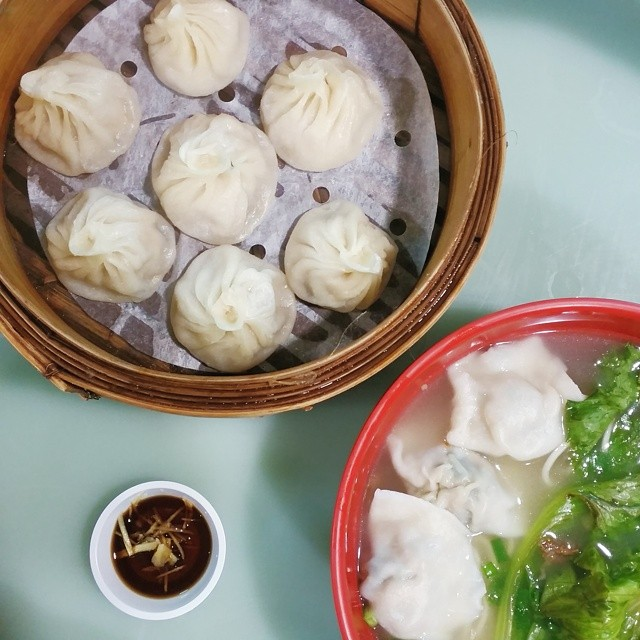 Xiao Long Bao and Dumpling Noodles cravings satisfied yay!
