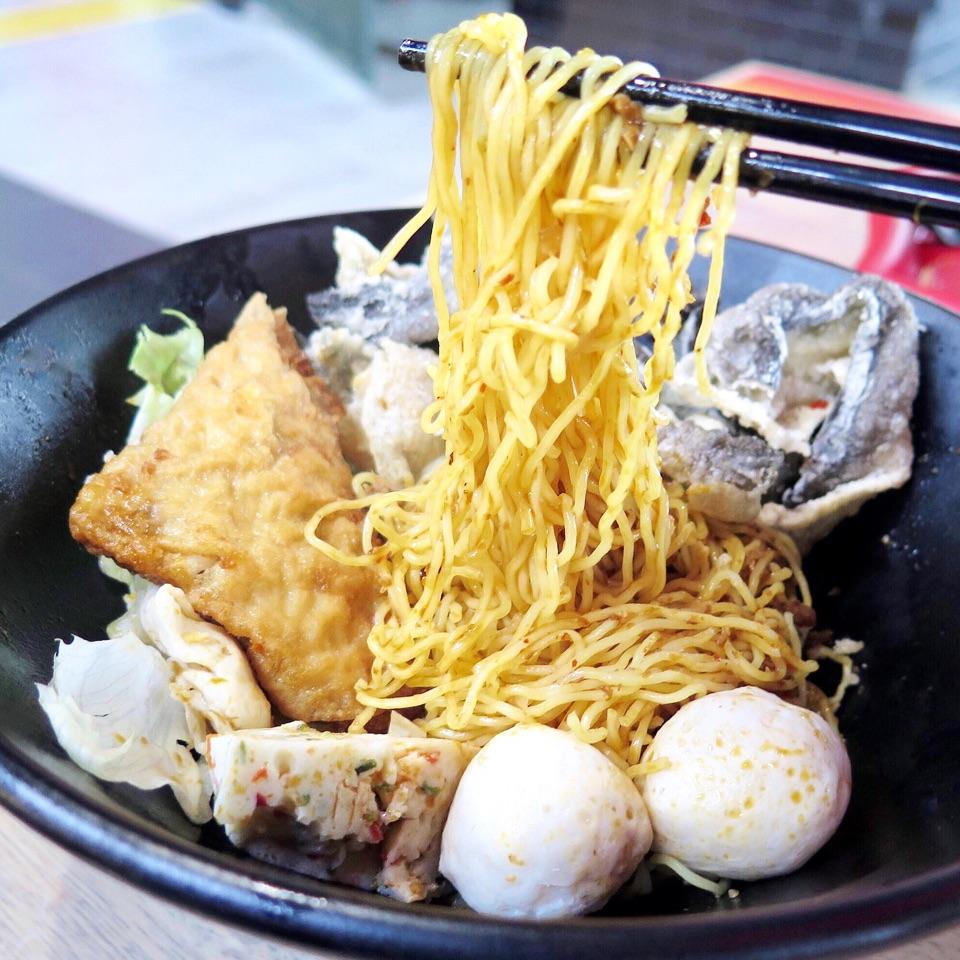 Premium Handmade Fishball Noodles [$6]