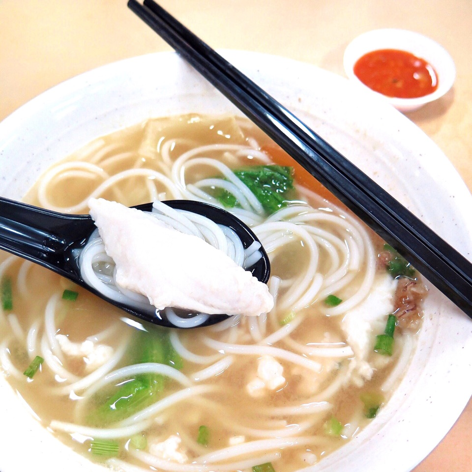 Slice Fish Bee Hoon Soup [$4]