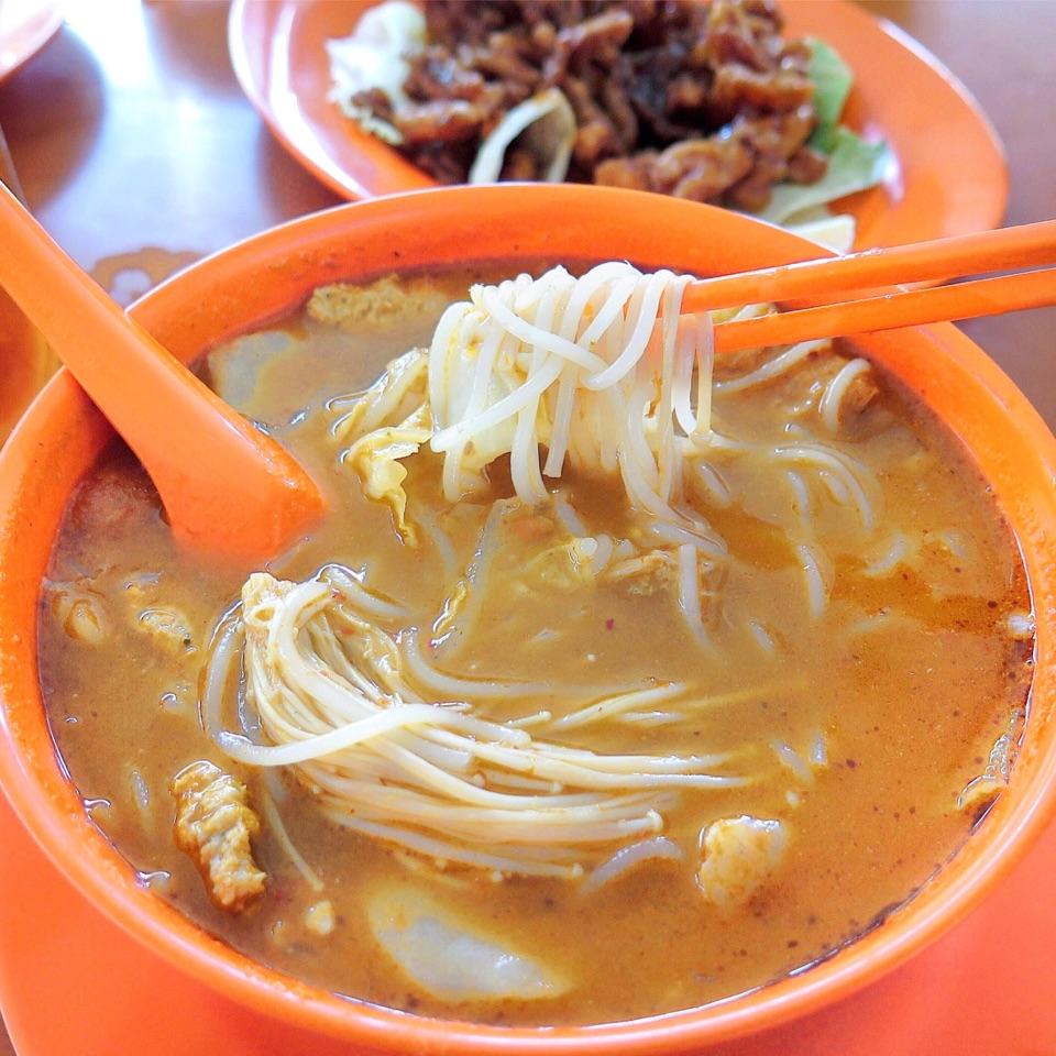 Tom Yum Mee Soup [$5]