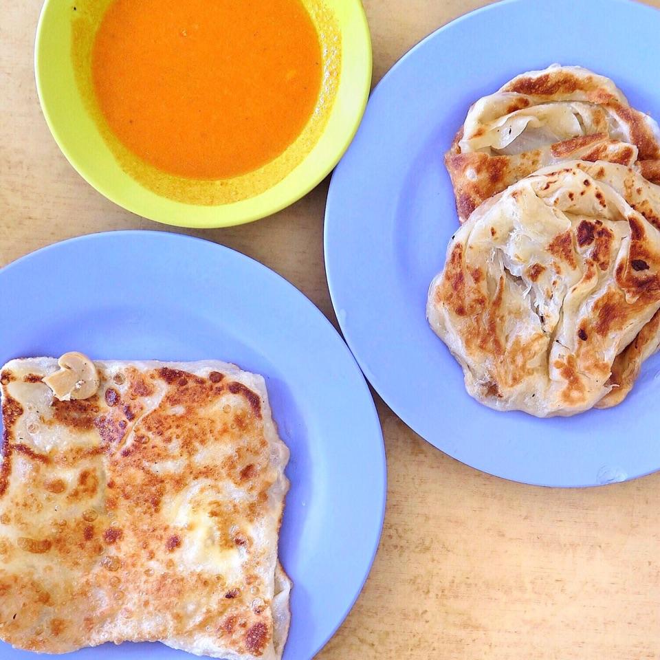 Kosong Prata & Cheese Mushroom Prata [Price Varies]