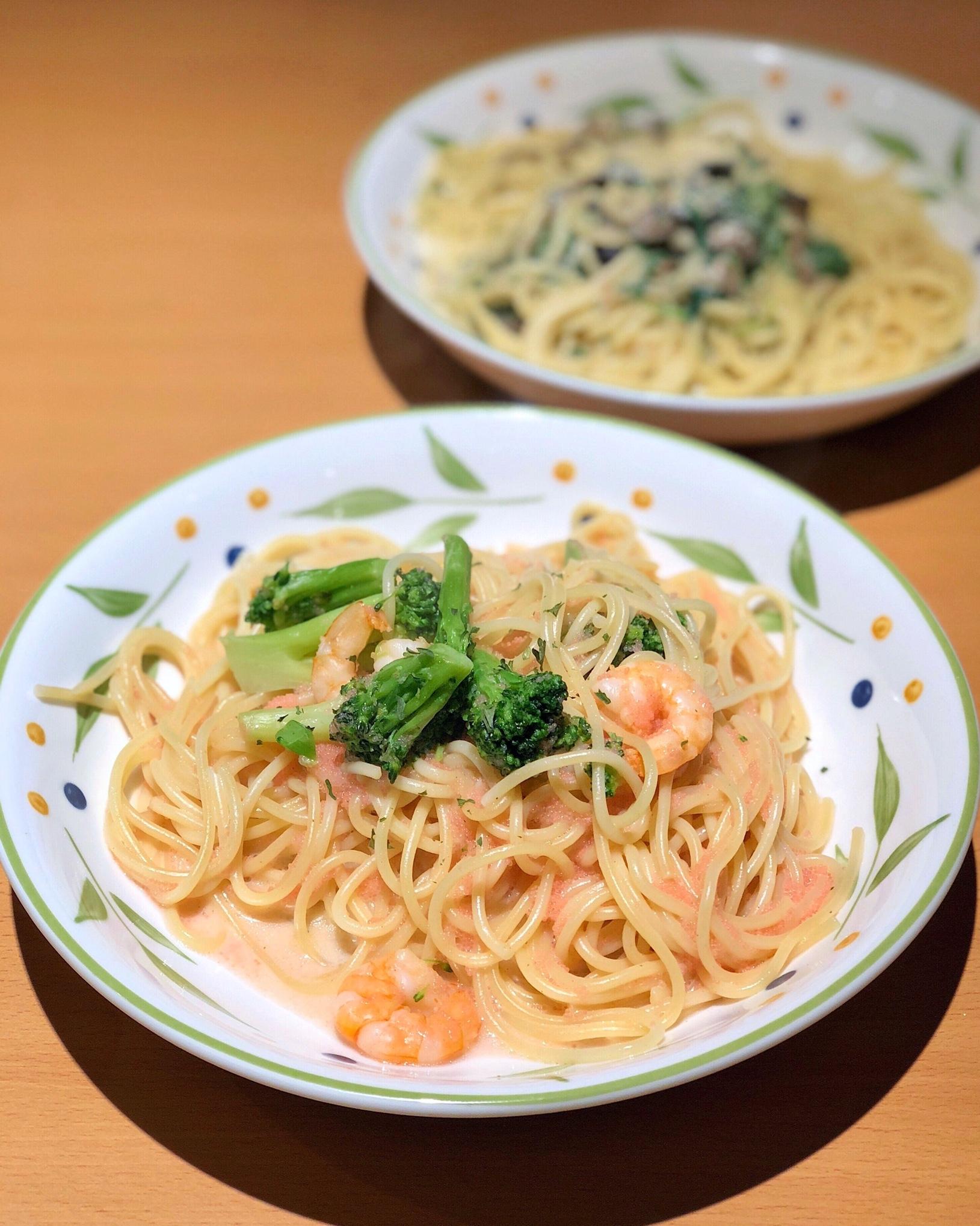 Mentaiko Flavor Shrimp & Broccoli [$6.90] | Burpple