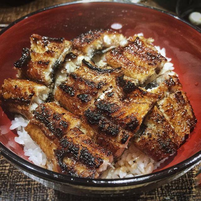 Back for more crispy grilled unagi bowl.