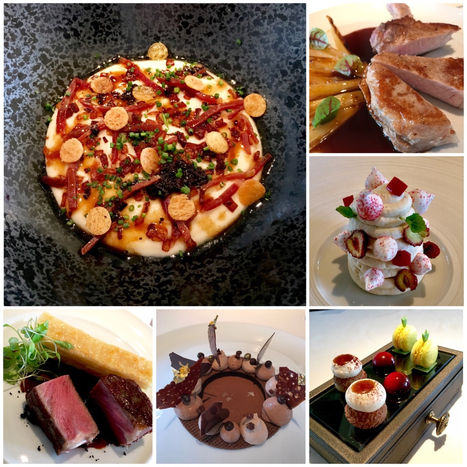 Lunch @ Caprice, Hong Kong