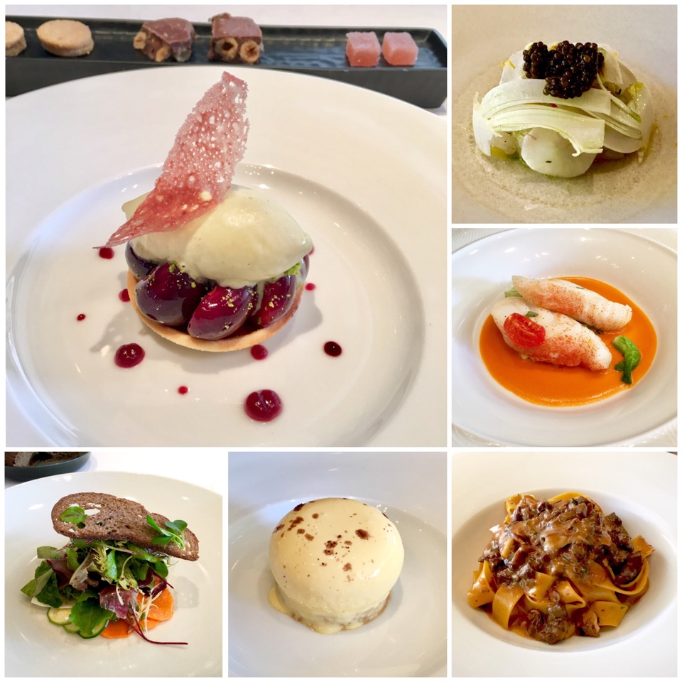 A Splendid Italian Luncheon (3 Michelin Stars ⭐️ ⭐️ ⭐️ )