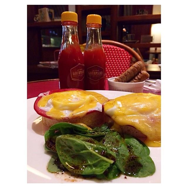 #EggBenedict #LeCafeGourmand #café #food #surabaya #indonesia