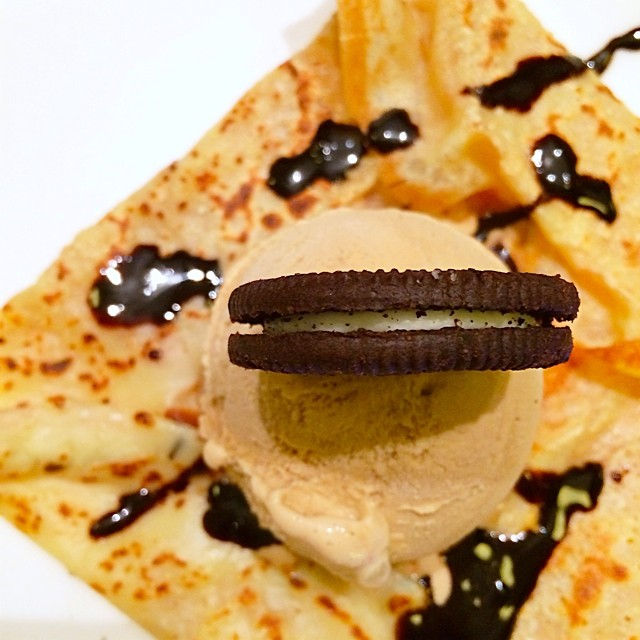 #oreo #crepes #LeCafeGourmand #dessert #café #surabaya #indonesia