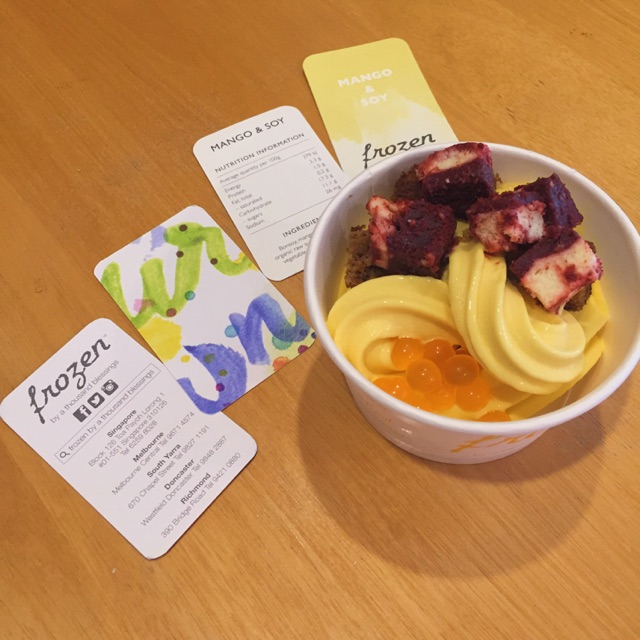 Amazing Froyo From Melbourne!!