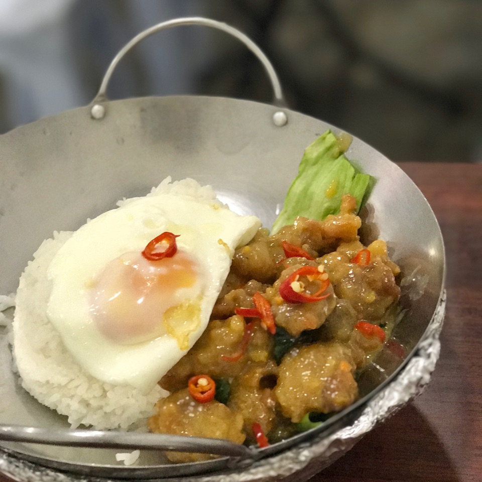 Salted Egg Yolk Chicken