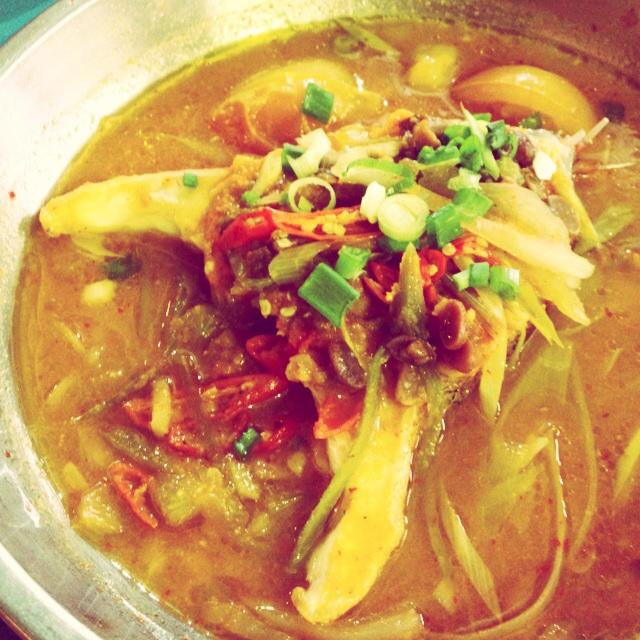 Spicy Fresh Steamed Fish
