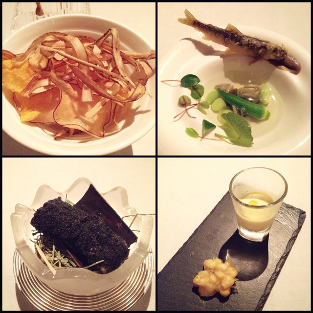 Gastronomic Menu: The Snacks To Start You Off ($275++)