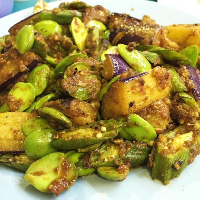 Sambal Mixed Vegetables ($10)