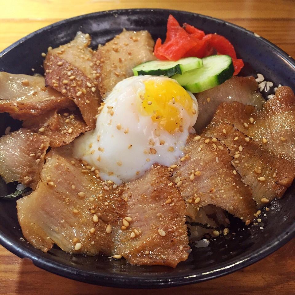 Pork Cheek Rice Bowl ($17)